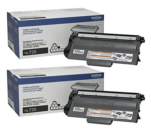Brother Reseller TN720 Toner Cartridge ( 2-Pack )