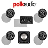 Polk Audio 900-LS 5.1 Vanishing Series In-Wall / In-Ceiling Home Theater System (900-LS + 255C-LS + HTS12)
