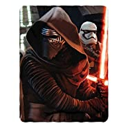 """Officially Licensed Star Wars Episode 7: The Force Awakens, Ready Imperial Fleece 46""""x60"""" Fleece Throw Blanket"""