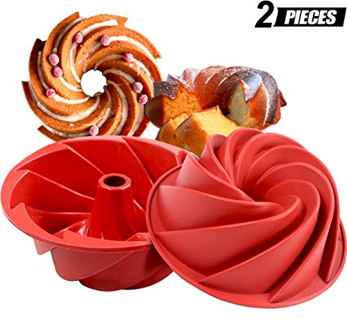Flexible Silicone Fluted Tube Pan - 3