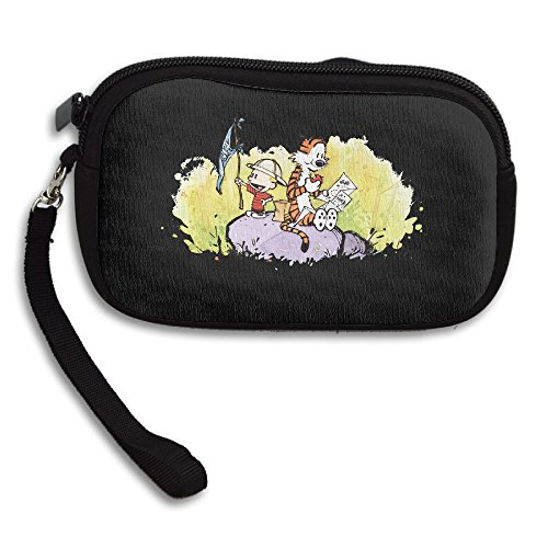 [CHRIS Calvin And Hobbes Casual Wallet] (Calvin And Hobbes Couple Costume)
