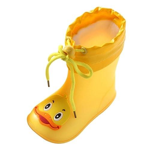6a42159b8 Botas de Lluvia niña BBsmile Botas de Lluvia para Niños Niños Chicas  Zapatos Impermeables Antideslizante