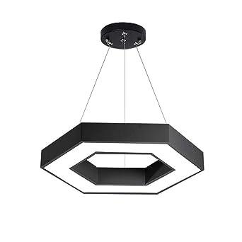 Sencilla y moderna luz hexagonal para oficinas de LED ...