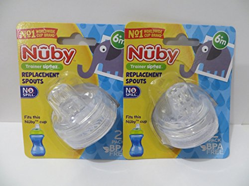 Nuby Replacement Spouts - 8