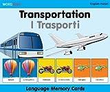 WordPlay Language Memory Cards–Transportation (English–Italian) (Italian and English Edition)