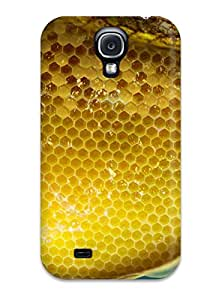 TtcAUGH19775mILqB Jack Anderson Awesome Case Cover Compatible With Galaxy S4 - Honeycomb Bees Honey Yellow Gold Animal Other
