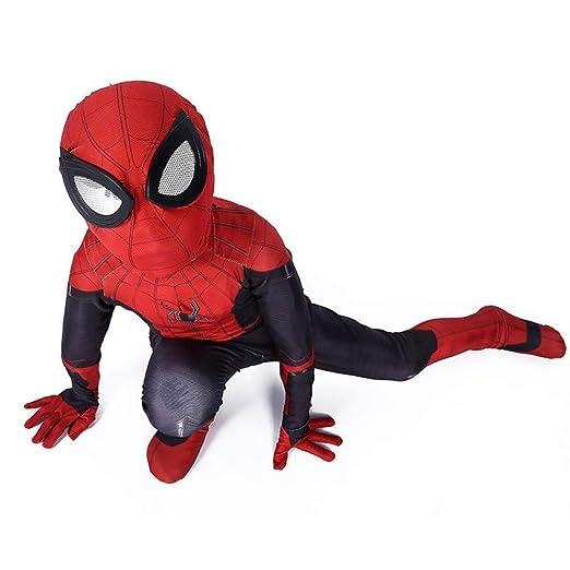 YIWANGO Traje De Cosplay De Spiderman para Niños Adultos ...