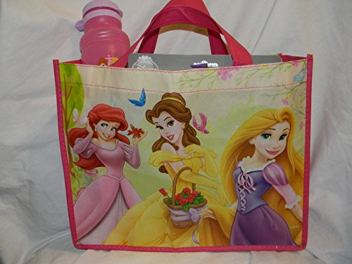 Disney Princess Resuable Tote Bag STUFFED FULL of Crafts, Toys, Games, Beauty Supplies and MORE!