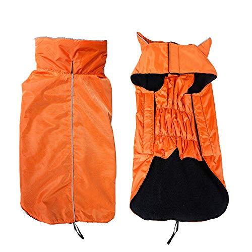 RSHSJCZZY Pet Windproof Waterproof Coats Reversible Reflective Soft Costumes Dog Raincoat