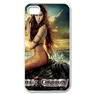 C-EUR Customized Print Pirates of the Caribbean Pattern Back Case for iPhone 4/4S