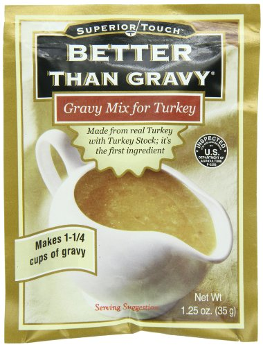 Better Than Gravy Gravy Mix Turkey, 1.25-Ounce (Pack of 12)