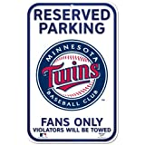 MLB Minnesota Twins 11-by-17 Sign