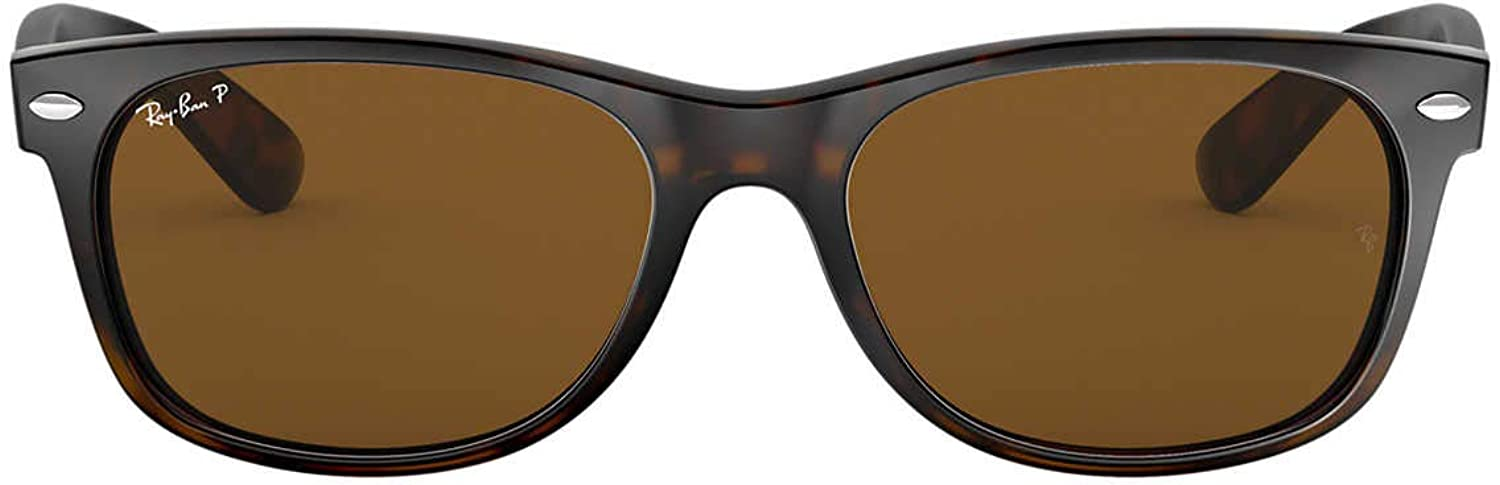Ray-Ban RB2132 New Wayfarer Sunglasses Tortoise/Crystalbrownpolarized