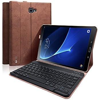 Amazon.com: CHESONA Galaxy Tab A 10.1 Keyboard Case ...