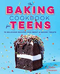 75 tasty baked treats teens will love to make.              Few things in life are more comforting than the aroma of baked bread. The Baking Cookbook for Teens makes it easy to introduce the aspiring baker in your life to the ...