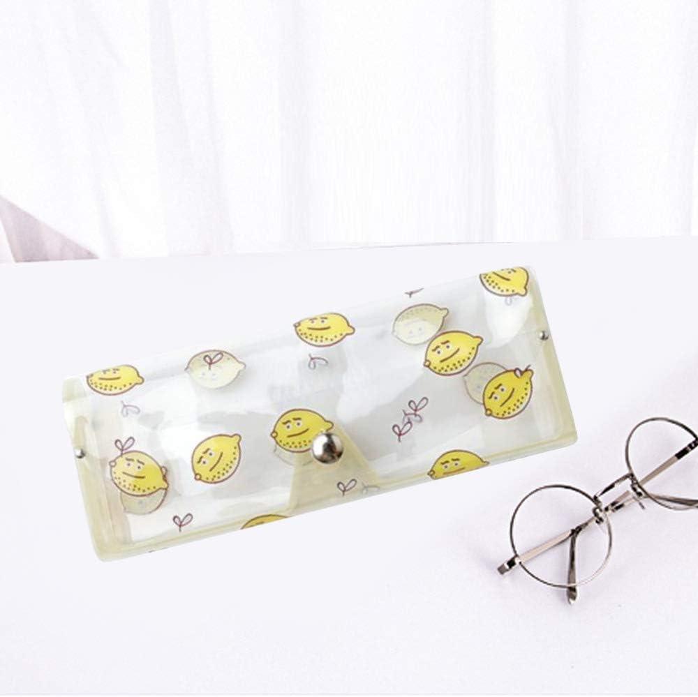 Cactus Stylish Clear Cute Transparent Plastic Glasses Protector Box Case