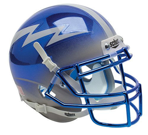 - NCAA Air Force Falcons US blue/Grey Mini Helmet, One Size, White