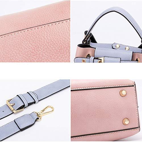 pour femme bandoulière sac à fashion bag Messenger main petit Sac Black sac Lxf20 2 PU pièces à tqAqF