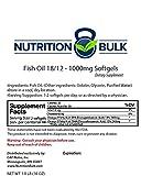 Cheap Nutrition Bulk Fish Oil Softgels – 1000mg (360 softgels)