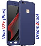 Dream2Cool 360 Degree Full Body Protection Front & Back Case Cover for Vivo V7 Plus - Blue