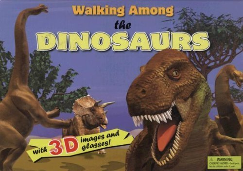 Walking Among the Dinosaurs [With 3-D Glasses] by Nathalie Valliere,Isabel Fonte (2007) - La Glasses Fonte