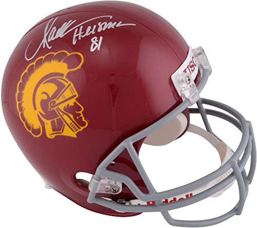 (Marcus Allen USC Trojans Autographed Riddell Replica Helmet with
