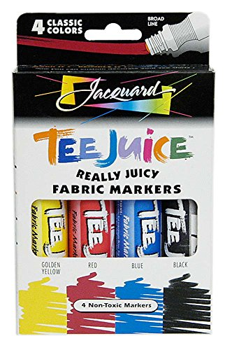 Jacquard Tee Juice Fabric Marker Box Set (Classic)