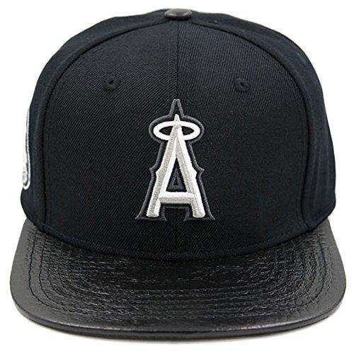 Pro Standard Men's MLB Los Angeles Angels Baseball Logo Strapback Hat -