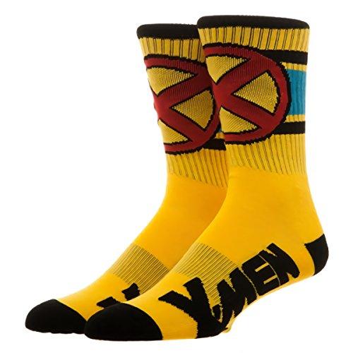 Xmen Suit (X-Men Wolverine Suit Up Crew Socks)