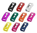 Cheap Feibands for Fitbit Alta HR Band Cover, Soft Silicone Colorful Sleeve Protector Band Cover for Fitbit Alta HR Smart Watch Band (#1-10pcs)