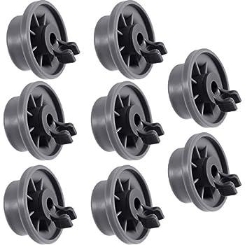 2x LG Genuine  Dishwasher Lower Basket Wheel Part # 4581DD3003B LD-1419W2