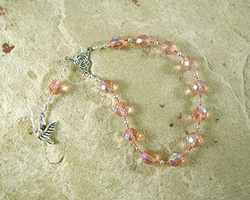 Dione Pocket Prayer Beads: Greek Titan Goddess, Mother of Aphrodite, Mistress of the Oracle at Dodona