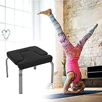 xiangpian183 Almohadillas de PU de Soporte para la Cabeza de Yoga - Soporte de Silla de Yoga para la Familia y el Gimnasio Mujer Hombre - Banco de ...