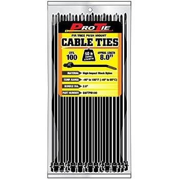 Marvelous Amazon Com 25 Push Mount Cable Tie For Imports 200Mm Length Office Wiring Cloud Mangdienstapotheekhoekschewaardnl