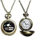 Broadway's Wicked Musical Bronze Finish Pendant Pocket Watch