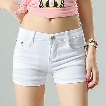 Pantalones Cortos De Mujer,La Mujer Blanca Shorts Denim ...