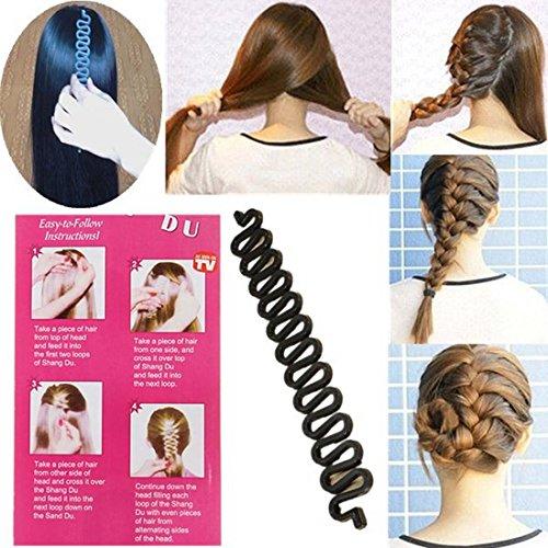 LuckyFine 1X Elegant French Hair Braiding Tool Roller