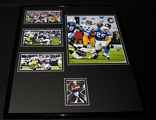 - Ben Roethlisberger Signed Framed 16x20 Photo Set Steelers The Tackle vs Colts