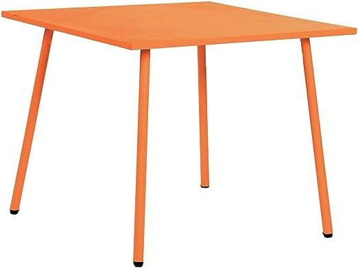 Table de Jardin Enfant Little - Orange: Amazon.fr: Jardin