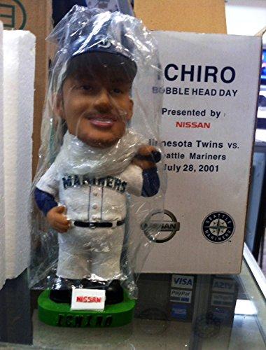 Ichiro Bobble Head (2001 Ichiro Bobble Head by Nissian Seattle Mariners Marlins Baseball)