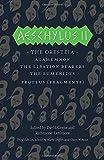 Greek Tragedies 3: Aeschylus II: The Oresteia