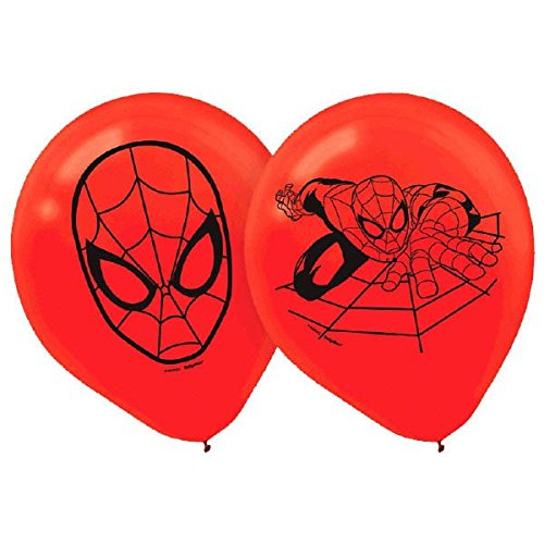 Spider Man Balloons count Party Supplies product image