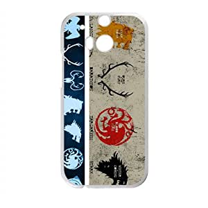 RELAY Game Of Thrones Cell Phone Case for HTC One M8