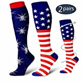 Compression Socks for Women & Men-Perfect BEST Stockings for Running, Medical, Athletic, Travel, Pregnancy.