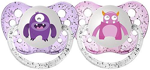Ulubulu Pacifiers Purple Monster Months