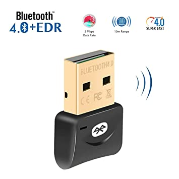 Sabrent usb bluetooth 4. 0 micro adapter for pc [v4. 0 class 2 with.