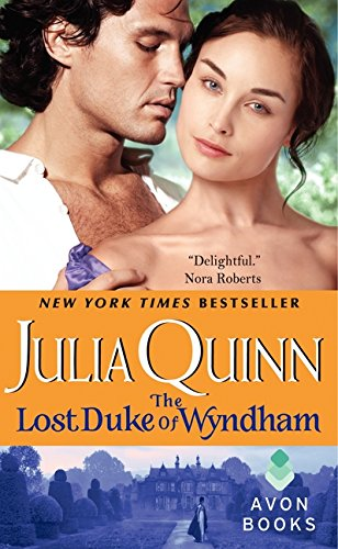 Book cover for The Lost Duke of Wyndham