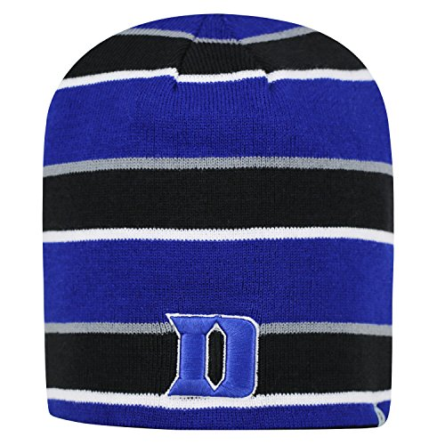 Hat Cuffless Cap Knit (Duke Blue Devils Reversible