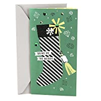 Hallmark Christmas Money or Gift Card Holder (Bedazzled Stocking)