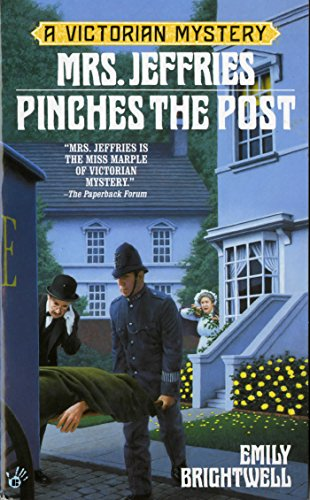 Book cover for Mrs. Jeffries Pinches the Post